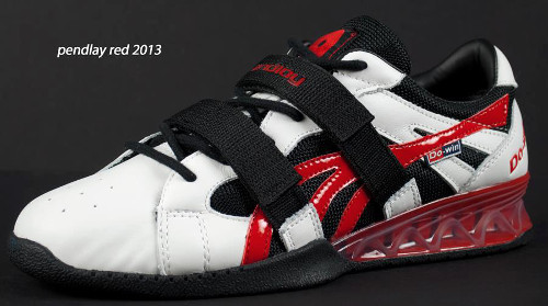 Pendlay Red Olympic Weightlifting shoe